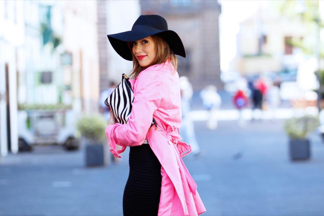 look pamela negra trech rosa chicle lady pura lopez 9454pr