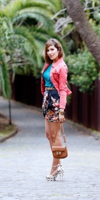 Look #120: My tulip skirt