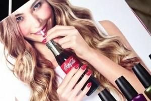 Coca cola y OPI: swatches y review de la colección de esmaltes